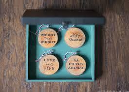diy wood slice ornaments upcycled treasures