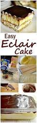 best 25 eclair cake recipes ideas on pinterest chocolate eclair