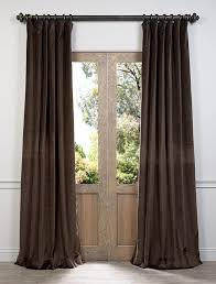 Chocolate Brown And Blue Curtains Chocolate Brown Curtains For Master Bedroom For The Home