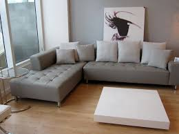 contemporary living room ideas with grey leather sectional couch