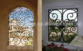 home windows grill design simple modern french house wrought iron metal window grill design
