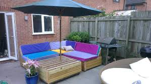 Recycled Patio Furniture Furniture Captivating Pallet Patio Furniture Made Out Of