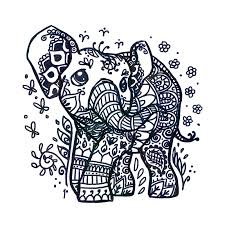 henna elephant tattoo design tattoos book 65 000 tattoos designs