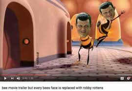Bee Movie Meme - bee movie trailer but every bees face is replaced with robby rottens