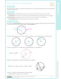 Interior Angles In A Circle Inscribed Angles In Circles Study Aids Geometry Ck 12