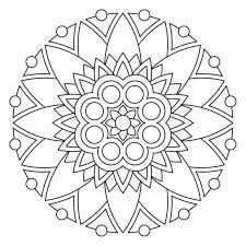 mandala coloring pages coloringeast com