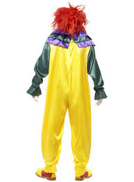 killer clown costume classic horror clown costume shop online funidelia
