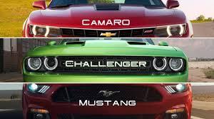 challenger camaro mustang challenger vs camaro vs mustang thinglink