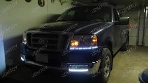 05 ford f150 headlights 2004 ford f 150 gets led headlight decoration strips