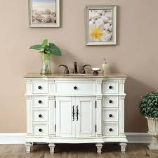 b1537 48 single sink bathroom vanity travertine top cabinet
