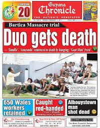 guyana chronicle e paper 03 02 2017 by guyana chronicle e paper
