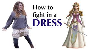 how to fight in a dress it actually works youtube