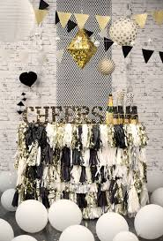Black And White Candy Buffet Ideas by Top 25 Best Black Party Decorations Ideas On Pinterest Black
