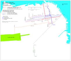Hudson Bergen Light Rail Map Transit Maps