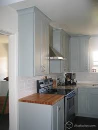 Blue Painted Kitchen Cabinets 117 Best Painted Kitchen Cabinets Images On Pinterest Painted