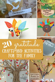 20 gratitude crafts and activities to do with the family crafts