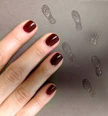 red carpet manicure bourgeois nailsssssss pinterest