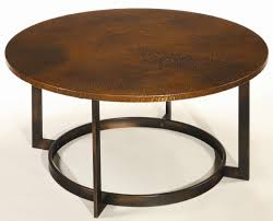 Hammered Copper Dining Table Coffee Table Round Copper Top Coffee Tables Copper Coffee Table