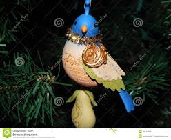 partridge in a pear tree ornament stock photo image 48148968