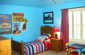 Little Boys Bedroom Furniture Alluring Little Boys Bedroom Design With Red Solid Plastic Car