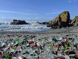 Beach Of Glass Glass Beach California Feel The Planet