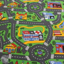 Kids Race Track Rug by Ideal Kids Highway Flooring Superstore