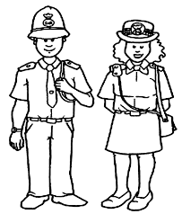 luxury police officer coloring pages 42 on gallery coloring ideas