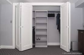 How To Build Bi Fold Closet Doors Bifold Closet Doors Closet Contemporary With Addition Remodel