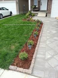 Front Landscaping Ideas Lifestyles Of The Stay At Home Mom House Reveal Part 1 Curb