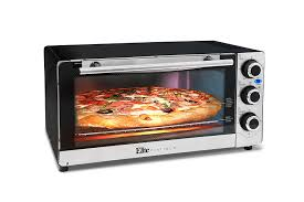 Bake Salmon In Toaster Oven Amazon Com Elite Platinum Eto 140c Countertop Convection 6 Slice
