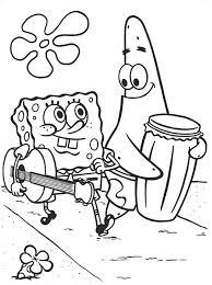 spongebob coloring 29521 bestofcoloring