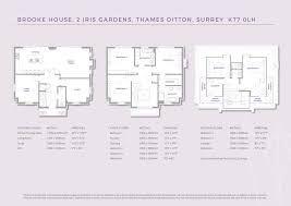 Gatwick Airport Floor Plan by Iris Gardens Embercourt Road Thames Ditton Thames Ditton Kt7 5