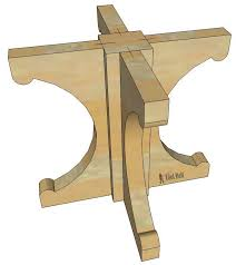 Pedestal Table Farmhouse Style Round Pedestal Table Her Tool Belt