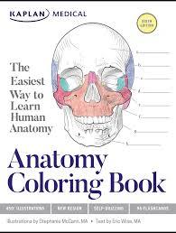 the anatomy coloring book kaplan apologia kaplan anatomy coloring book 6th edition