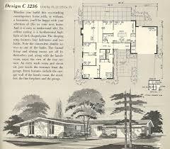 Av Jennings Floor Plans Retro House Plans 1960s House Interior