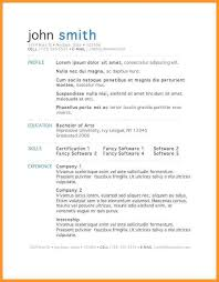 Resume Template On Word 2007 Resume Template For Microsoft Word 2007 Eliolera Com