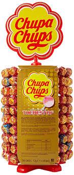 chupa chup chupa chups wheel of 200 lollipops co uk grocery
