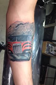 Family Tribute Tattoo Ideas Cab Over Kenworth Semi Tattoo Family Tradition Tribute Tattoo