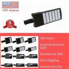 led parking lot light ebay