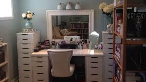 Vanity With Storage Beautiful Bedroom Vanity With Storage Photos Home Design Ideas