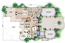mediterranean style floor plans mediterranean style house plan beds baths sqft ideas 2 floor plans