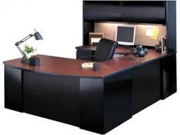 exec u shaped office desk with hutch csii 7265 desks regard to