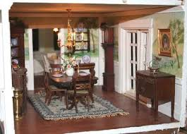Dollhouse Dining Room Furniture 147 Best Dollhouse Dining Rooms Images On Pinterest Dollhouses