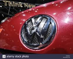 german volkswagen logo detroit usa 09th jan 2017 the logo of the german car company