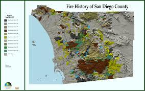 Map San Diego Fire History Of San Diego County Map San Diego Ca U2022 Mappery