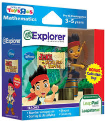 leapfrog explorer learning game disney jake land