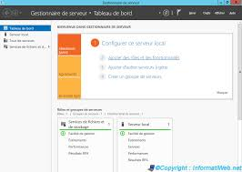 installer bureau à distance windows server 2012 2012 r2 créer un active directory