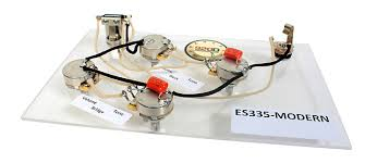 prewired es 335 wiring harness for gibson cts switchcraft reverb