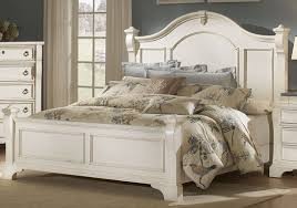 American Woodcrafters Bunk Beds White Bedroom Furniture Modern Raya Furniture White Distressed