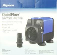 amazon com aqueon quietflow submersible aquarium utility pump
